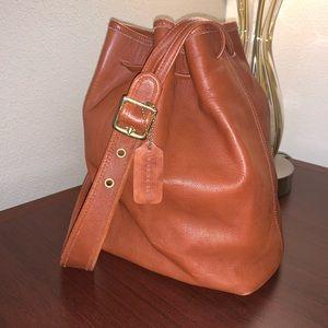 Coach vintage brown shoulder bag